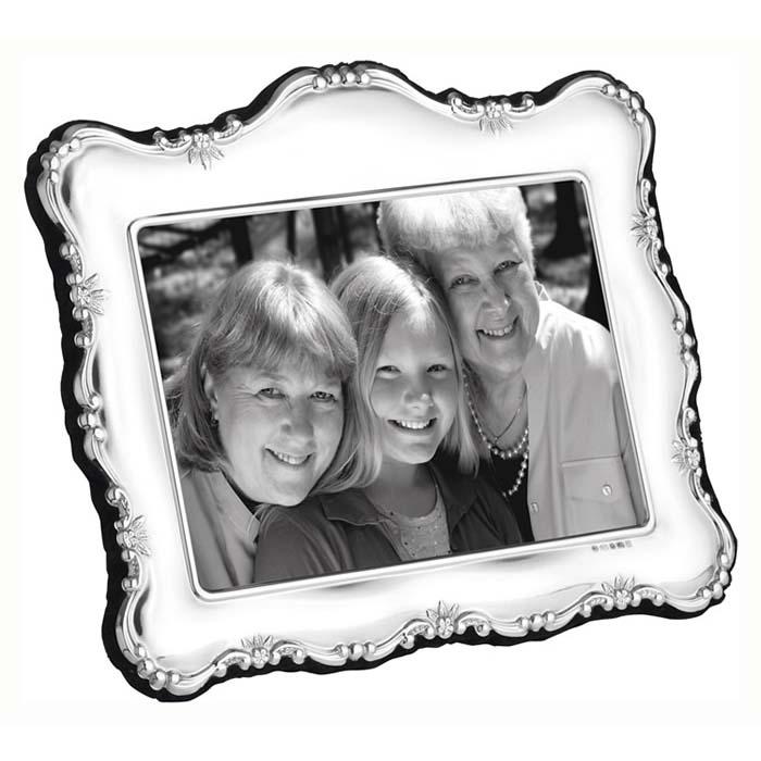 Plain Daisy Simple 18X13 cm - 7X5 Inch Traditional Photo Frame