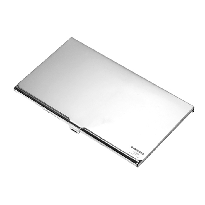 Sterling Silver Plain Folding Business Card Holder