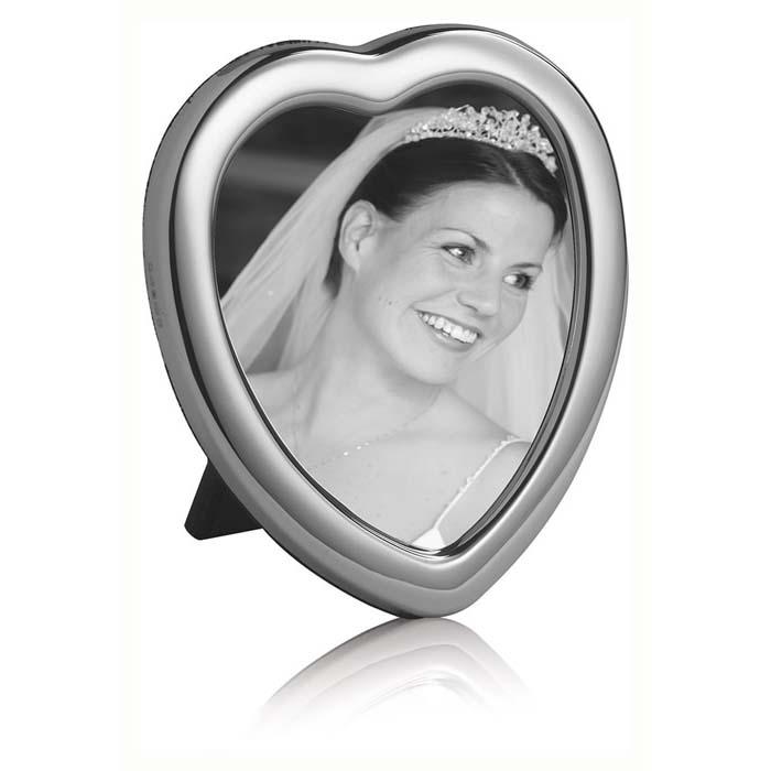 Plain 6X5 cm Heart Classic Photo Frame