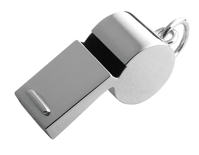 Sterling Silver Silver Whistle