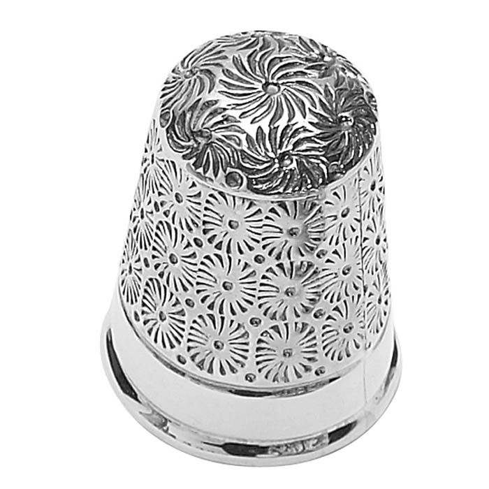 Floral Patterned Thimble