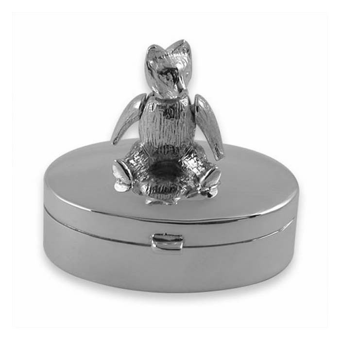Sterling Silver Large Movable Teddy Box