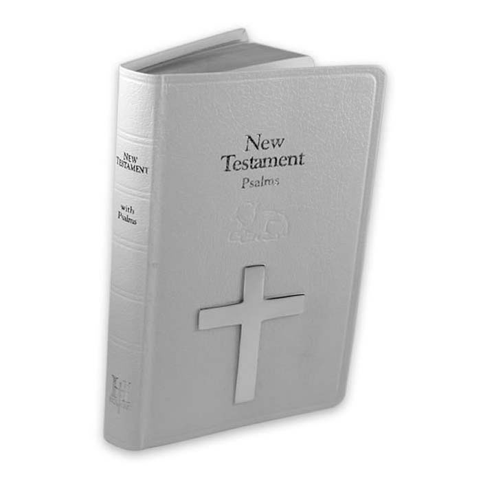 Plated Sterling Silver New Testament Bible