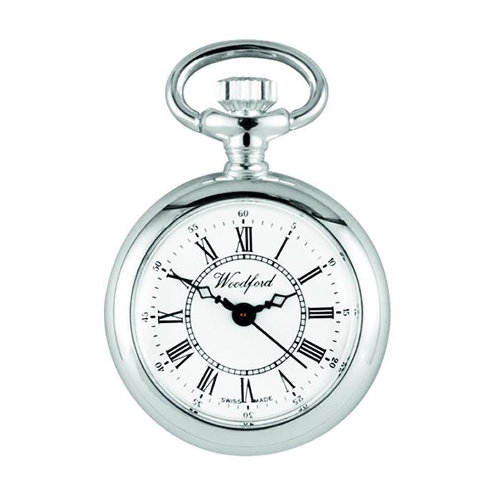 Quartz Pocket Watch With Chain