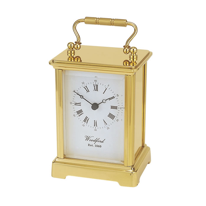 Brass Obis Quartz Carriage Clock