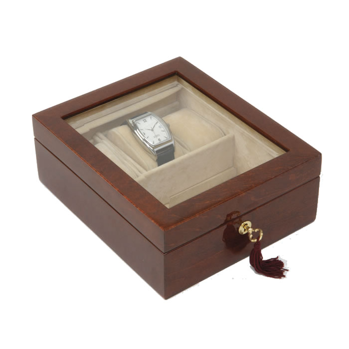 Wooden Veneered Style Watch Box