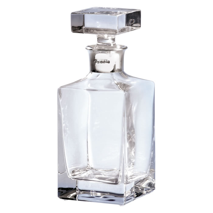 Square Cut Spirit Decanter 65cl