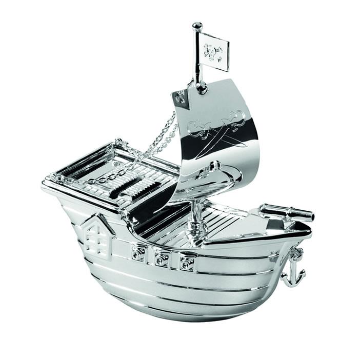 Pirate Ship Money Box