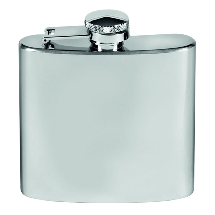 Stainless Steel 6oz Captive Top Flask