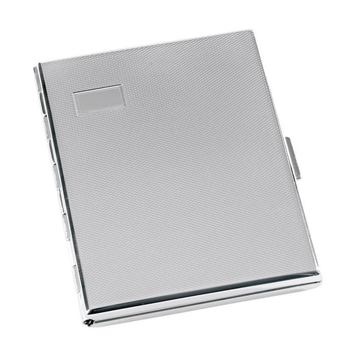 Sterling Silver Large Cigarette Case