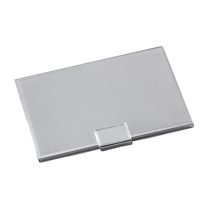 Sterling Silver Plain Credit Or Visiting Card Case