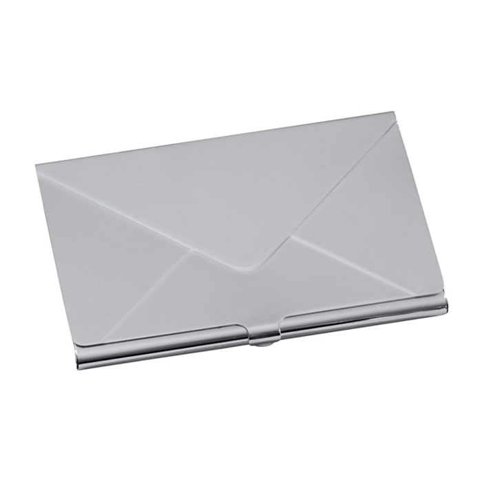 Sterling Silver Envelope Credit Or Visiting Card Case