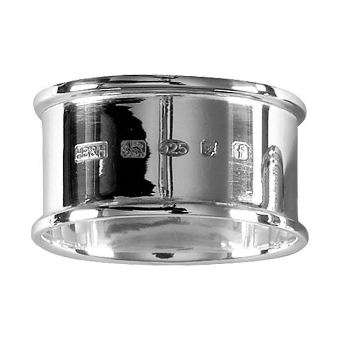 Plain Sterling Silver Napkin Ring