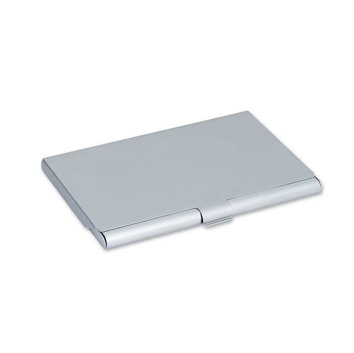 Matt Finish Metal Business Card Holder