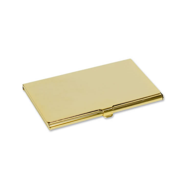 Personalised engraved business card holders unique feminine gold plated business card holder reheart Gallery