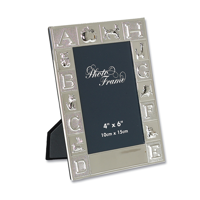 Silver Plated ABC Photo Frame Photo Frame