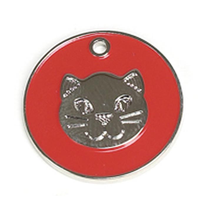 Red Cat Pet Tag