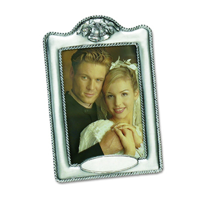 6 X 4 Inch Portrait Antique Finish Wedding Photo Frame