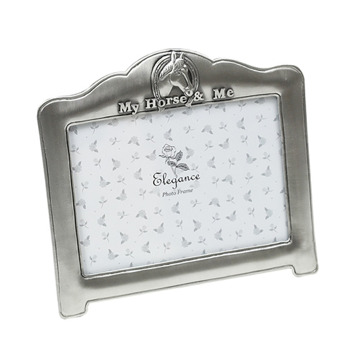 6 X 4 Inch Antique Finish My Horse Photo Frame
