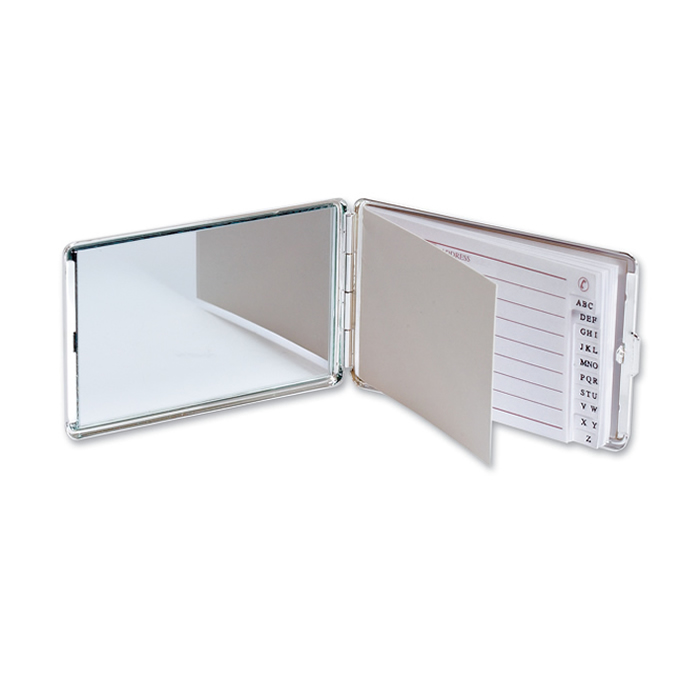 Chrome Plated Address Book