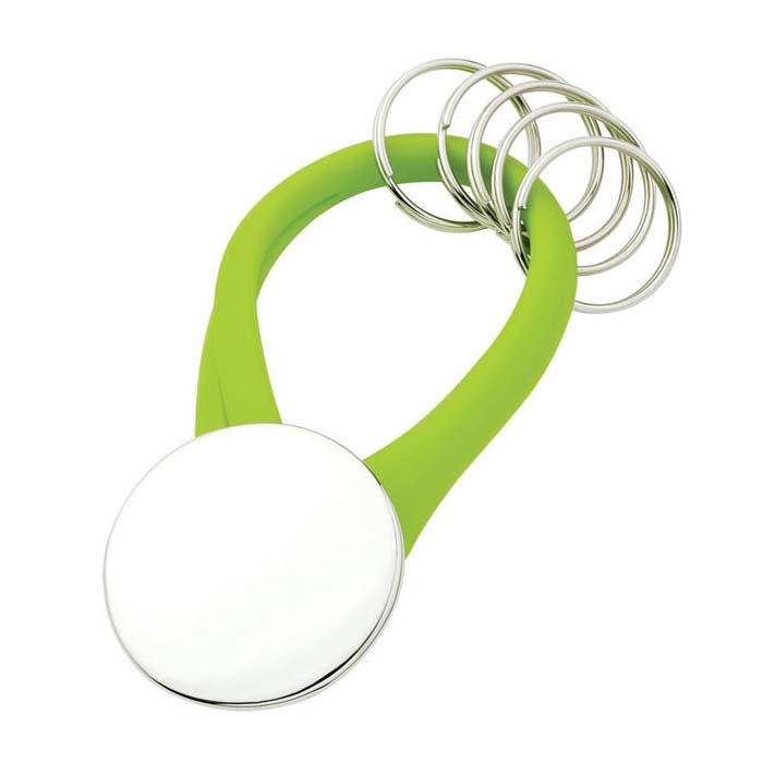 Green Key Holder Key Ring