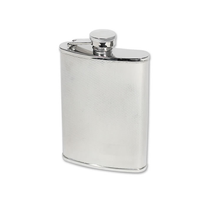 17cl Stainless Steel Net Design Flask