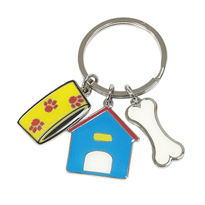 Dog Charms Key Ring