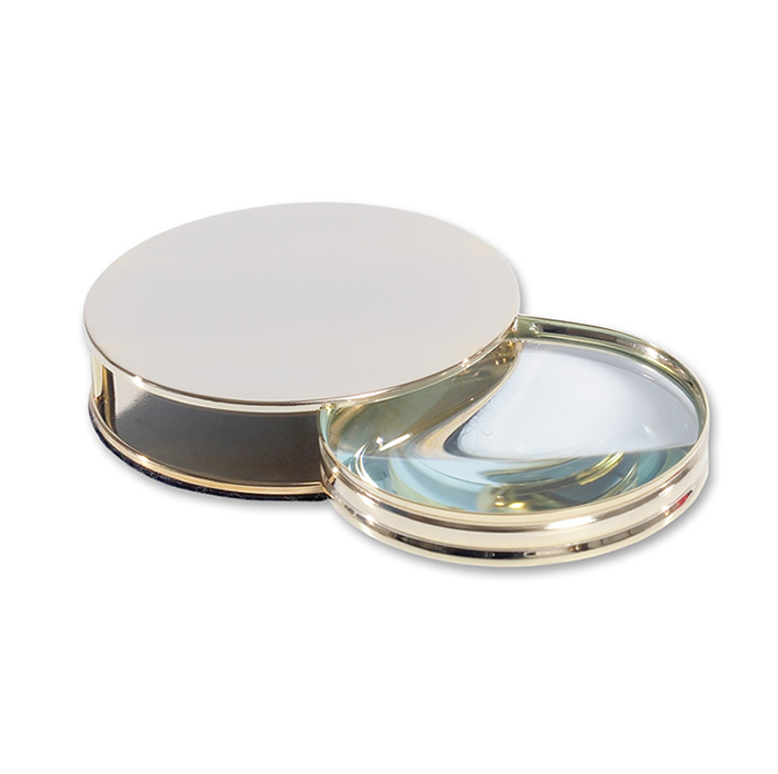 Gold Plated Magnifying Glass