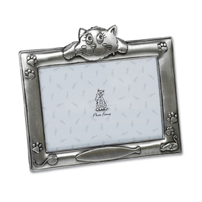 6 X 4 Inch Antique Finish My Cat Photo Frame
