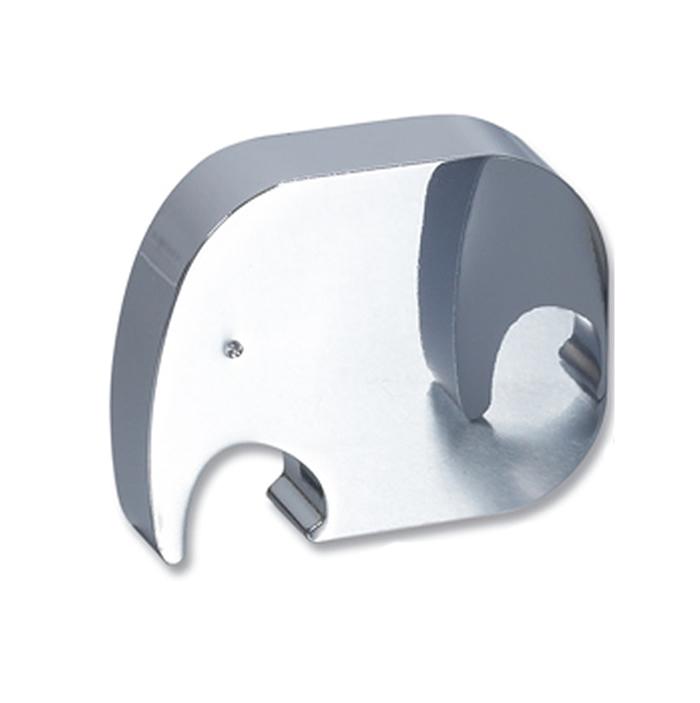 Elephant Design Polished Finish Bottle Opener