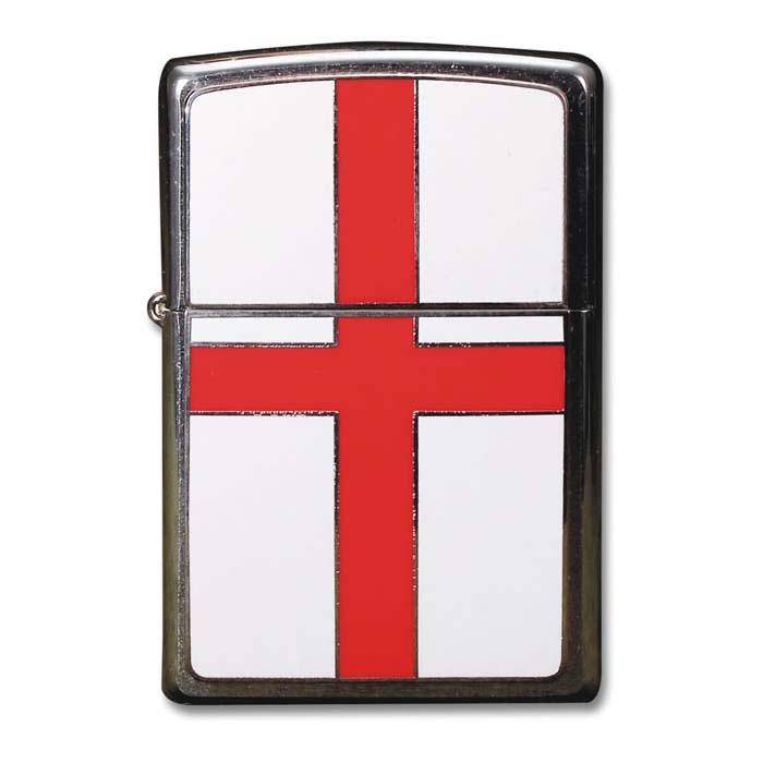St George Flag Zippo Lighter