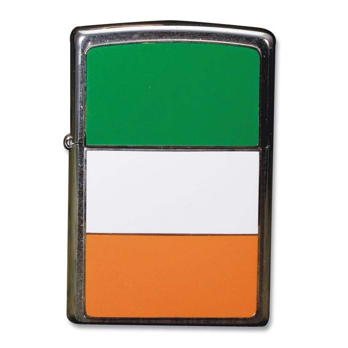 Irish Flag Zippo Lighter