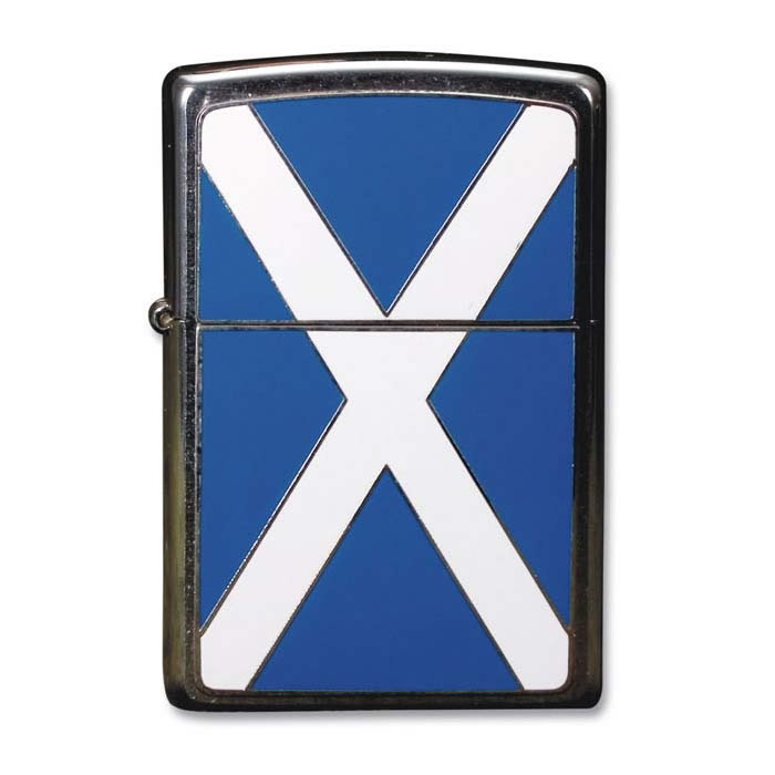 Scotland Flag Zippo Lighter