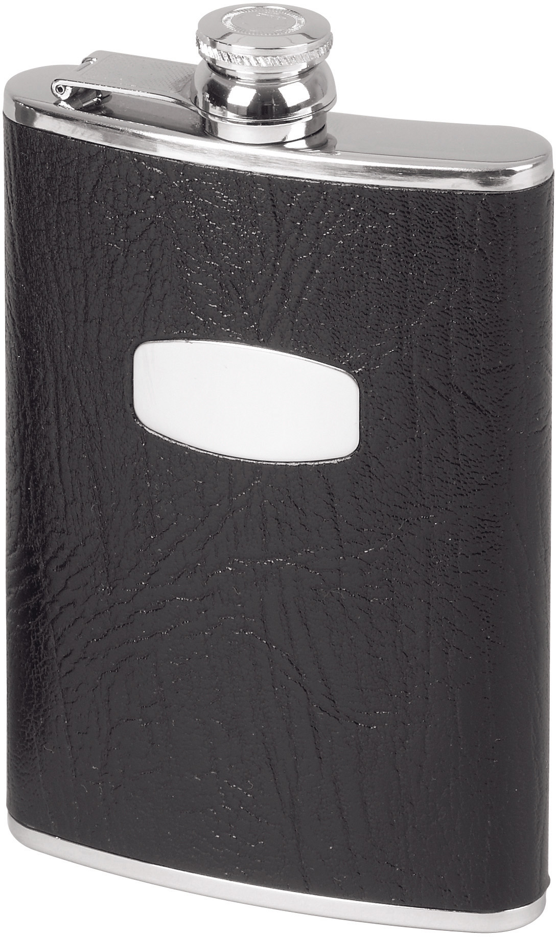Stainless Steel Captive Top Flask 17cl