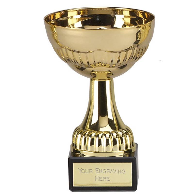 5 Inch Gold Basic Stirlingshire Trophy Cup