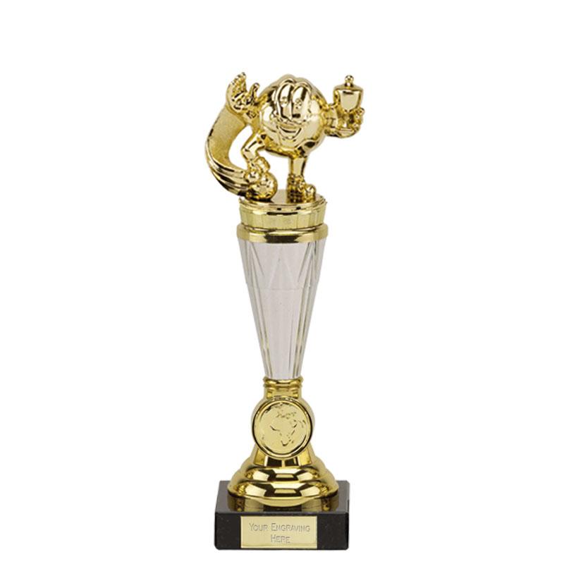 23cm Gold Football Figure On Paragon Award