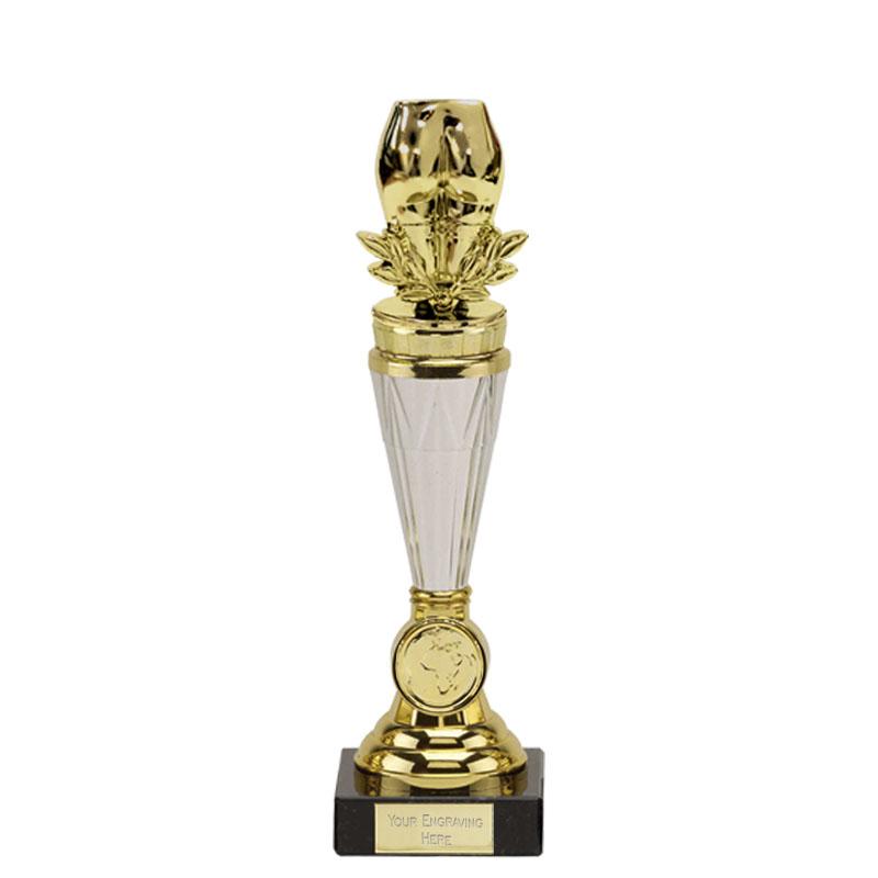 23cm Gold Bottom Figure On Paragon Award