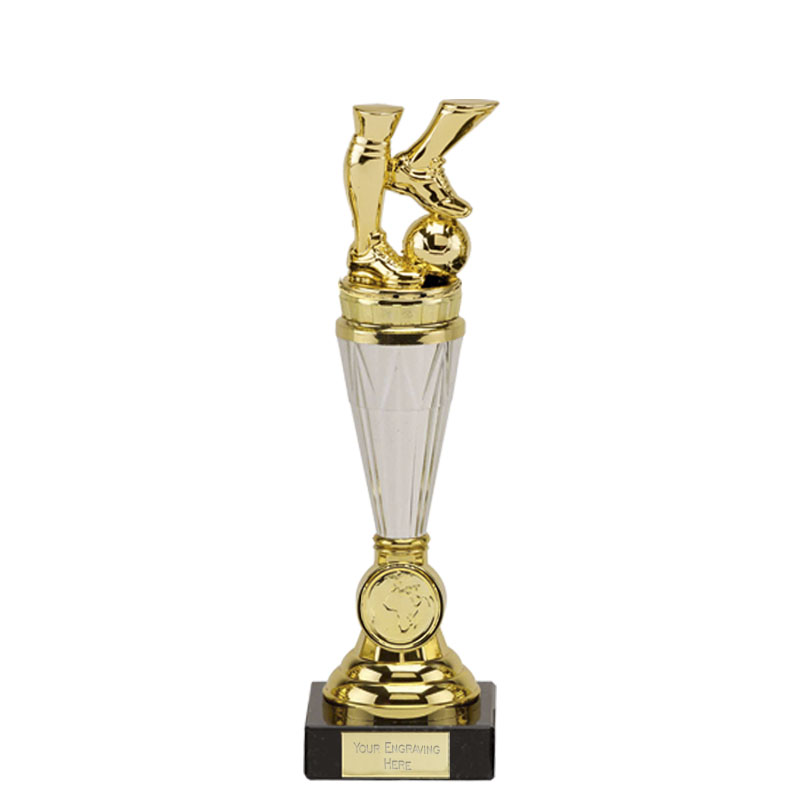 23cm Gold Football Legs Figure On Paragon Award