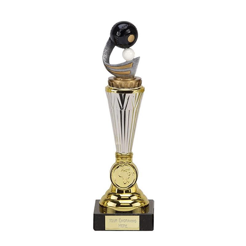 23cm Lawn Bowls Figure On Bowling Paragon Award
