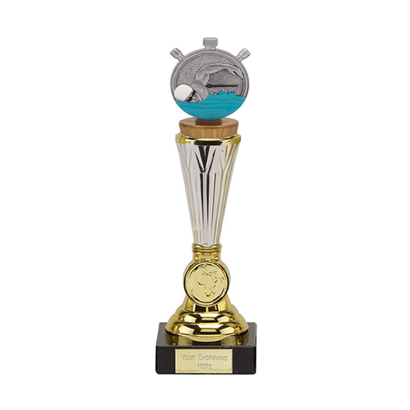 23cm Swimming Figure On Paragon Award