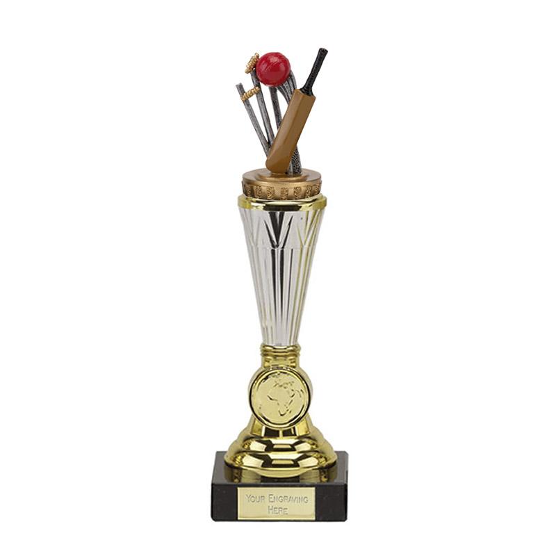 23cm Cricket Figure On Cricket Paragon Award