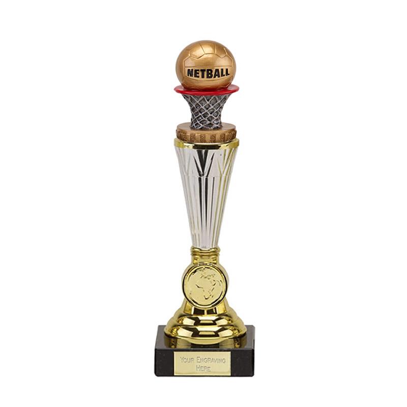23cm Netball Figure on Paragon Award