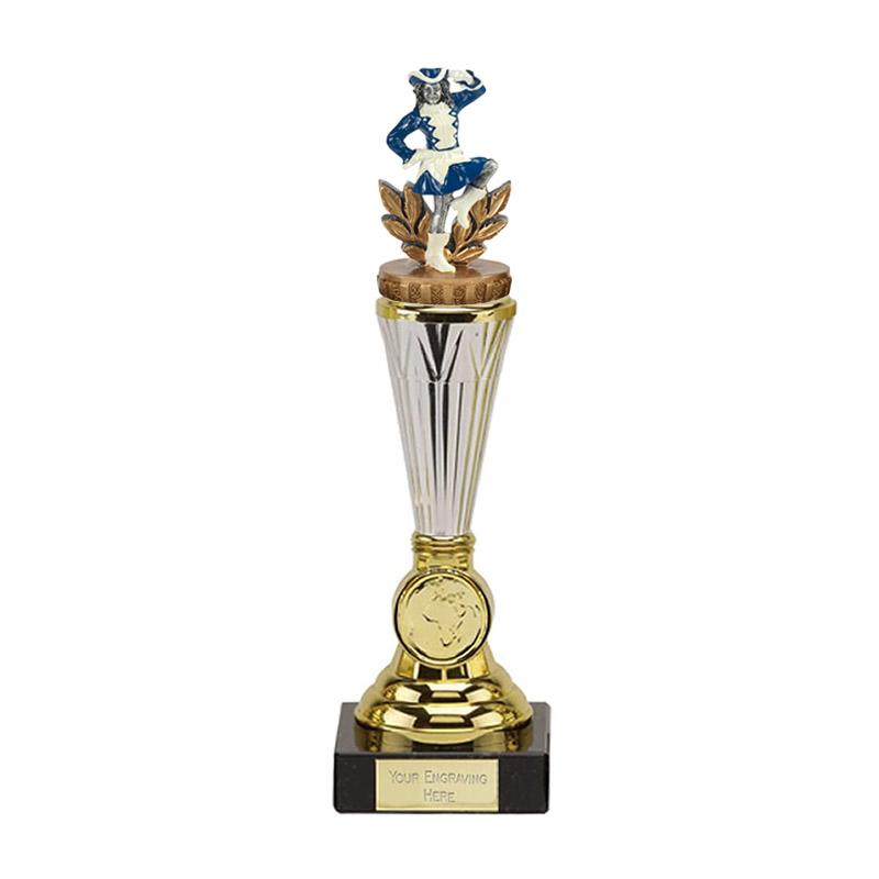 23cm Majorette Figure On Music Paragon Award