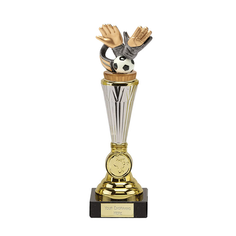 10 Inch Keeper Glove Figure On Football Paragon Award