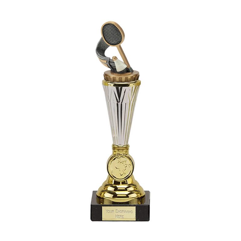 10 Inch Badminton Figure On Paragon Award