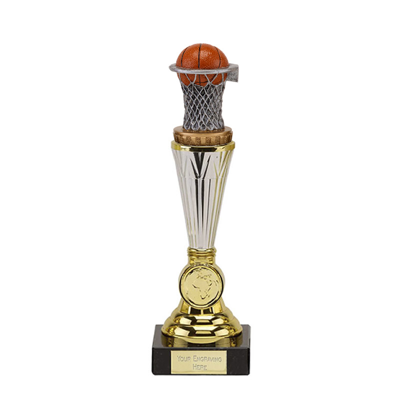 10 Inch Basketball Figure on Basketball Paragon Award