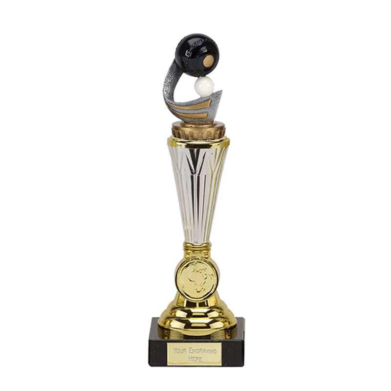 10 Inch Lawn Bowls Figure On Bowling Paragon Award
