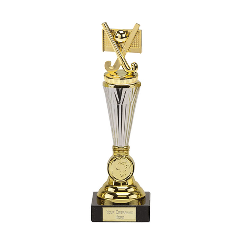 26cm Gold Field Hockey Figure On Paragon Award