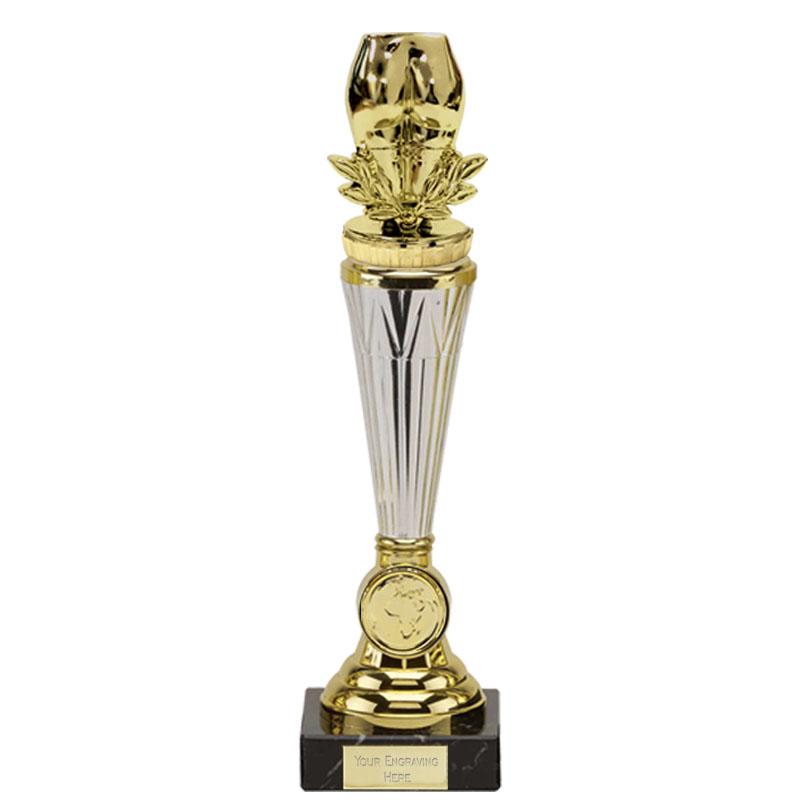 26cm Gold Bottom Figure On Paragon Award