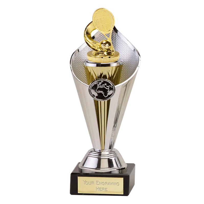 22cm Gold Tennis Figure on Tennis Beacon Award